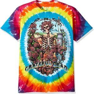 Grateful Dead Multi Tie Dye Short Sleeve T- Shirt